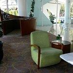 Ruang tunggu di R. Receptionist
