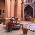 Lunch at a lovely riad Abdul suggested