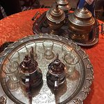 Learning to make Moroccan tea in the Berber family's home
