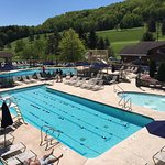 Use of Holiday Valley pool complex is available to renters.