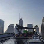 Pool mit phantastischem Blick auf Bangkok