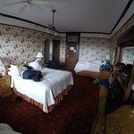 Los cuartos son de decoración antigua
