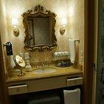 The amazing vanity