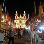 Street and Church Decoration at the Festa of St Catherines - Zurrieq