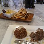 I had two orders of the Meatballs at Stella's. ~Partee