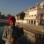 The very knowledgeable Davinder Singh