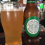 Coopers pale ale .no preservatives