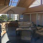 Relax in our Atrium & BBQ area