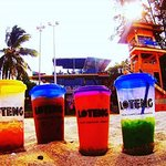 Enjoy our signature drinks by the beach