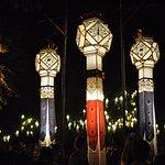 More lanterns in Wat Phan Tao