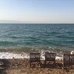Private Dead Sea beach area