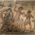 Struggle between Dionysus and the Indians