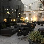 Exterior patio lounge 'Dirty Habits'