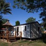 Mobile-home Confort terrasse en bois