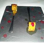 Dessert amuse: crepe suzette