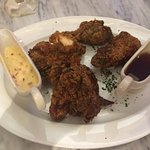 Buttermilk chicken is very good; they gave me one piece too many!