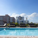 Rooftop pool area (quiet and relaxing)