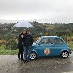 Rainy day fun with Fiats! Beautiful countryside!