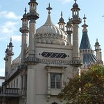 Brighton Pavilion from garden