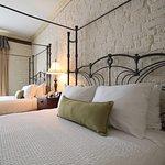 Double Queen Beds w/ 1817 original exposed brick walls