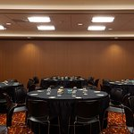 Conference Room- Rounds Set Up