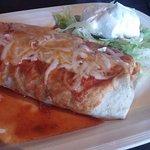 Veggie Burrito!