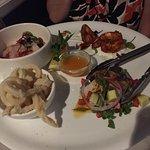 Seafood sharing platter