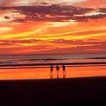 sunset at La Veranera