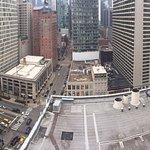 """View of the """"mile"""" from the 19th floor."""