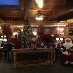 Main lobby, ready for the holidays.
