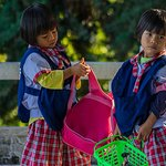 Local school girls