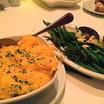 Potatoes and green beans