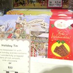 Christmas Holiday Tin, Miette,Patisserie, Ferry Building, San Francisco, CA