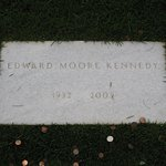 Ted Kennedy grave