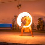Fiesta Beachside BBQ & Cultural Show-Fire dance