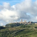 View of Gimignano. WOW