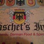 German beer at our neighborhood German restaurant