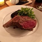 28 day dry aged sirloin, delicious!
