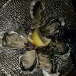 Oysters were fab, bad quality photo of them though!
