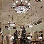 Grand reception area