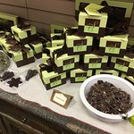 Samples of chocolate