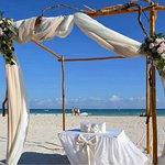 Perfect wedding set up