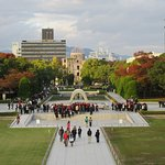 View of the Park from the Hiroshima Peace Memorial Museum.