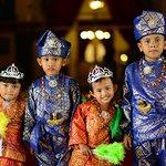 Medan - Medan's kids wear traditional costume
