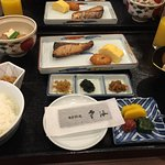 Japanese Style Breakfast Included in our Room Rate