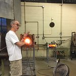 Glass blowing experience was wonderful!