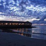 The Morgan's Pier Restaurant at Sundown