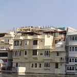 View of hotel from Lake Pichola