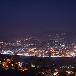 night view of ooty city from room