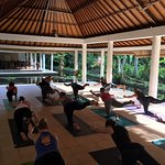 Jiwa Damai morning yoga class